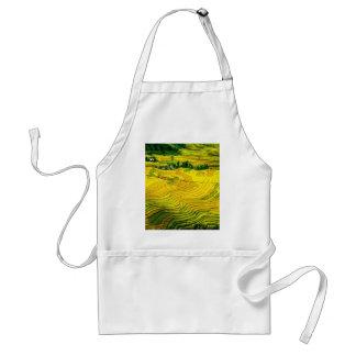 season harvest success and peace adult apron
