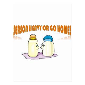 Season Heavy or Go Home Postcard
