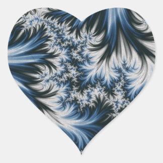 Season Of Frost Heart Sticker