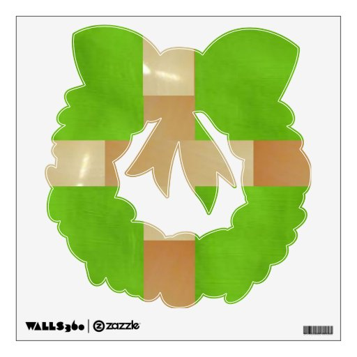 Season of Gifts - Painted Gold n Green Wrath Room Stickers