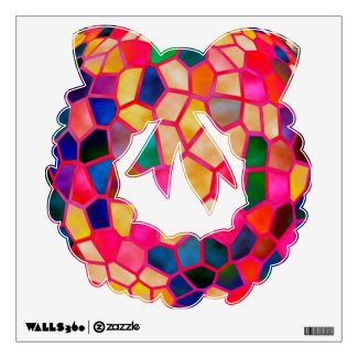 Season of Gifts - Stained Glass Wrath Wall Decals