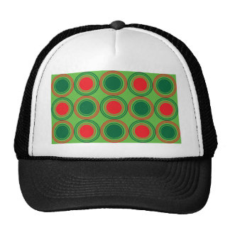 Season of Greetings Green and Red Trucker Hat