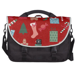 Season of Greetings Toys and Biscuits Laptop Shoulder Bag