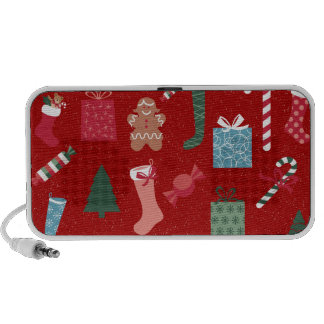 Season of Greetings Toys and Biscuits iPhone Speakers