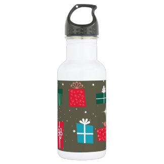 Season of Greetings Water Bottle