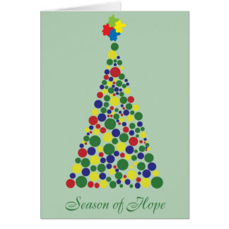 Season of Hope - Autism Awareness Card
