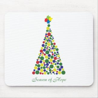 Season of Hope - Autism Awareness Mouse Pad