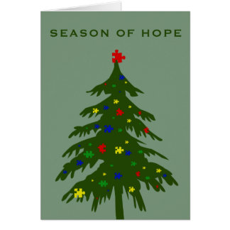 Season of Hope - Autism Card