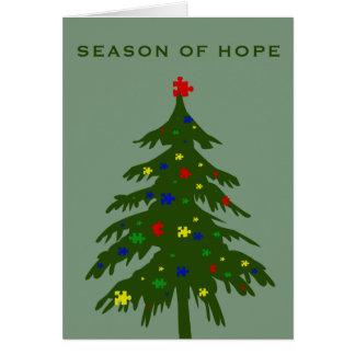 Season of Hope - Autism Card