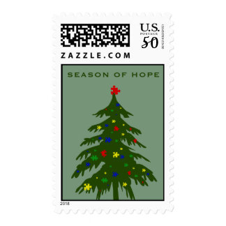 Season of Hope - Autism Postage