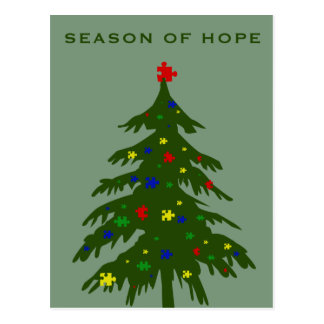 Season of Hope - Autism Postcard