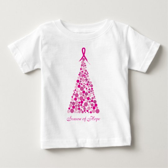 Season of Hope - Breast Cancer Baby T-Shirt