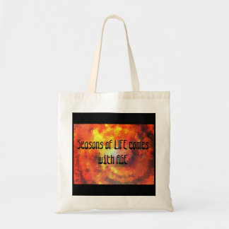 Season of Life Autumn Leaves Tote Bag