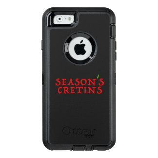 season`s cretins OtterBox defender iPhone case