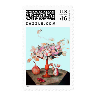SEASON S FRUITS 5 POSTAGE STAMPS