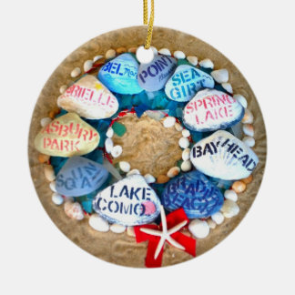 Season s Greetings from the Jersey Shore Ornament