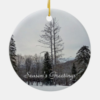 Season s Greetings Ornament