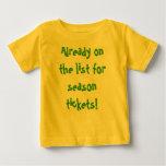 Season Tickets Baby T-Shirt