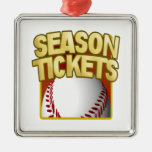 Season Tickets Christmas Tree Ornament