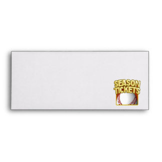 Season Tickets Envelope