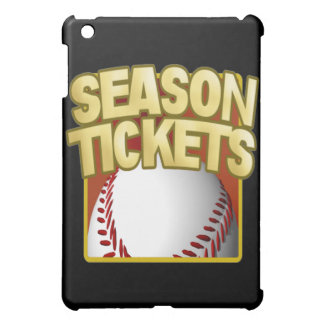 Season Tickets iPad Mini Covers