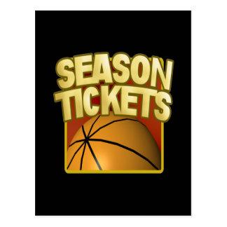 Season Tickets Postcard