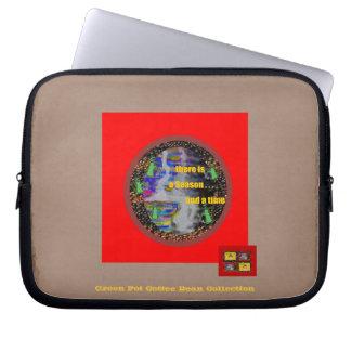Season, Time ~ Electronics Sleeve (laptops) Computer Sleeve