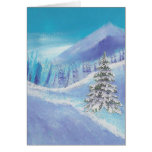 Seasonal Card Tree and Mountain D6