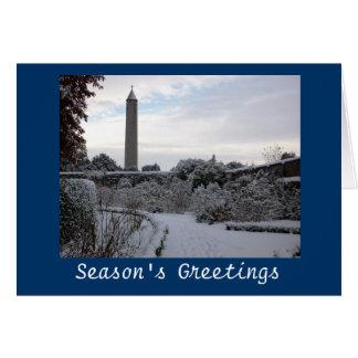 Seasonal Dublin Greeting Card