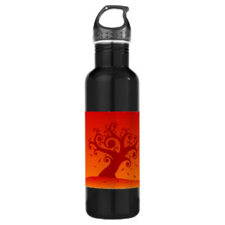 Seasonal Genealogy Water Bottle
