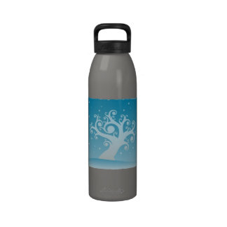 Seasonal Genealogy Water Bottles