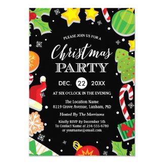 Seasonal Holiday Family Reunion Christmas Party Card