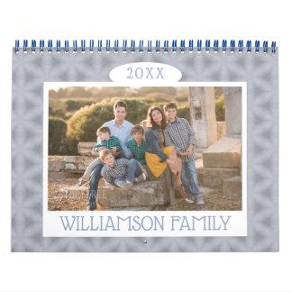 Seasonal Kaleidoscope Patterns | Family Photo Calendar