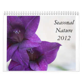 Seasonal Nature 2012 Calendar