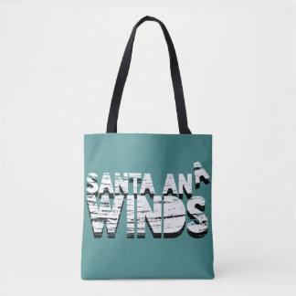Seasonal Santa Ana Winds Tote Bag