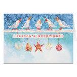 Seasonal Seagulls Cards