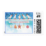 Seasonal Seagulls Stamps
