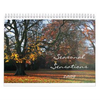 Seasonal Sensations 2009 Wall Calendars