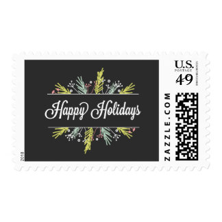 Seasonal Sprigs Holiday Postage