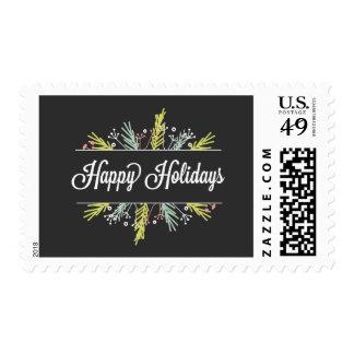 Seasonal Sprigs Holiday Postage