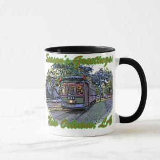 Seasonal St. Charles Streetcar Mug