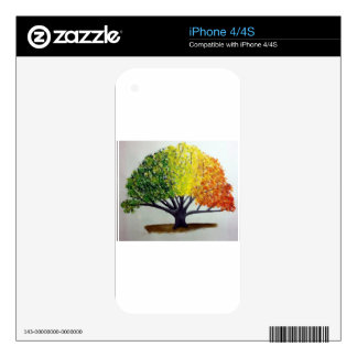 Seasonal Tree Skin For The iPhone 4