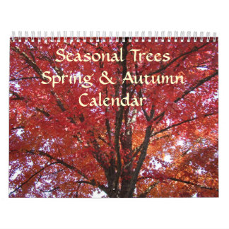 SEASONAL TREES Calendars SPRING AUTUMN