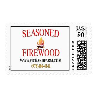 Seasoned Firewood Stamp