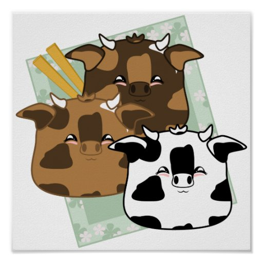 Seasoned Moo Moo Dumplings Platter Poster