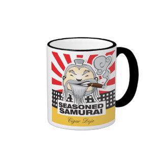Seasoned Samurai Ringer Mug