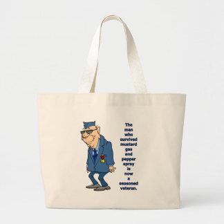 Seasoned Veteran Large Tote Bag