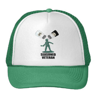 Seasoned Veteran Trucker Hat
