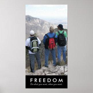 Seasoning Boyz, Freedom Poster
