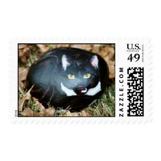 """""""Seasoning"""" cat rock stamp"""